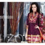 Al Zohaib Mahnoor Eid Lawn Fancy Dresses 2016 11