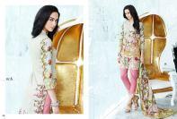 Al Zohaib Mahnoor Eid Lawn Fancy Dresses 2016
