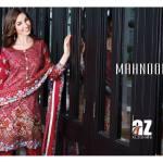 Al Zohaib Mahnoor Eid Lawn Fancy Dresses 2016 15