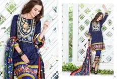 Al Zohaib Mahnoor Eid Lawn Fancy Dresses 2016 4