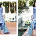 Al Zohaib Mahnoor Eid Lawn Fancy Dresses 2016 5