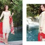 Al Zohaib Mahnoor Eid Lawn Fancy Dresses 2016 6