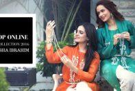 Ayesha Ibrahim Eid Modern Dresses Summer 2016