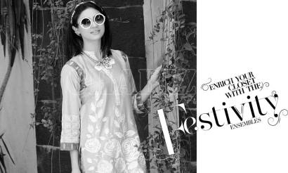 Belle 2 Piece Embroidered Eid Lawn By Charizma 2016 10