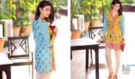 Belle 2 Piece Embroidered Eid Lawn By Charizma 2016 3