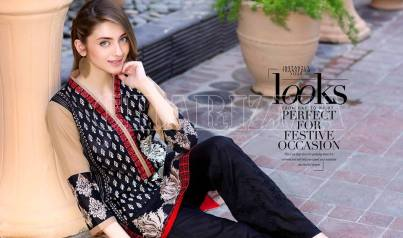 Belle 2 Piece Embroidered Eid Lawn By Charizma 2016 8