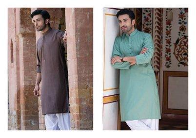 Bonanza Men Eid Kurta Shalwar Summer 2016 4