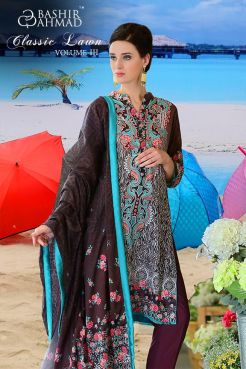Casual Eid Lawn By Bashir Ahmed Textiles 2016 6