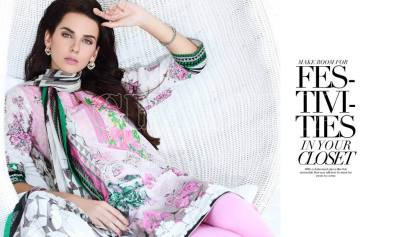 Embroidered Fancy Eid Lawn By Charizma 2016 8