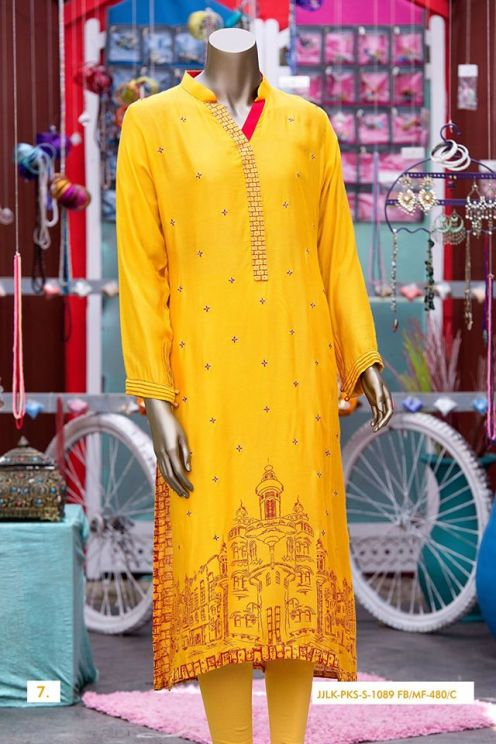 Junaid Jamshed Pret Eid Dresses Colorful Collection 2016