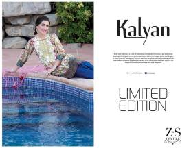 Kalyan Limited Eid Collection ZS Textiles 2016 2