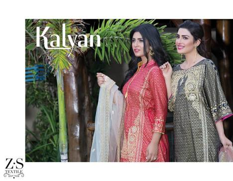 Kalyan Limited Eid Collection ZS Textiles 2016 5