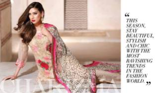 Luxury Chiffon Eid Collection Vol-2 Charizma 2016 2