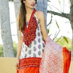 Mahae Embroidered Eid Lawn By Shariq Textiles 2016 9