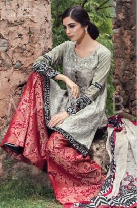 Maria B Eid Lawn Dresses Summer 2016 5