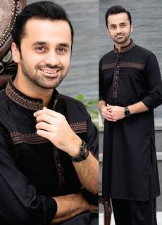 Rivaj Fabrics Men Semi Stitched Eid Collection 2016 6