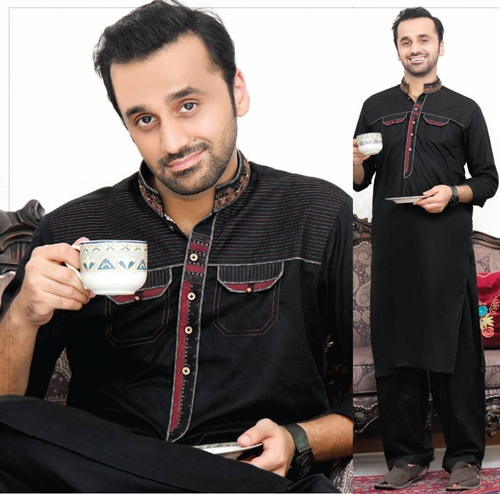 Riwaj Fabrics Men Semi Stitched Eid Collection