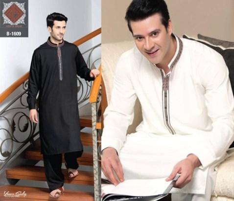 Rivaj Fabrics Men Semi Stitched Eid Collection 2016 9