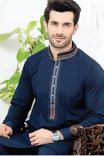 Rivaj Fabrics Men Semi Stitched Eid Collection 2016