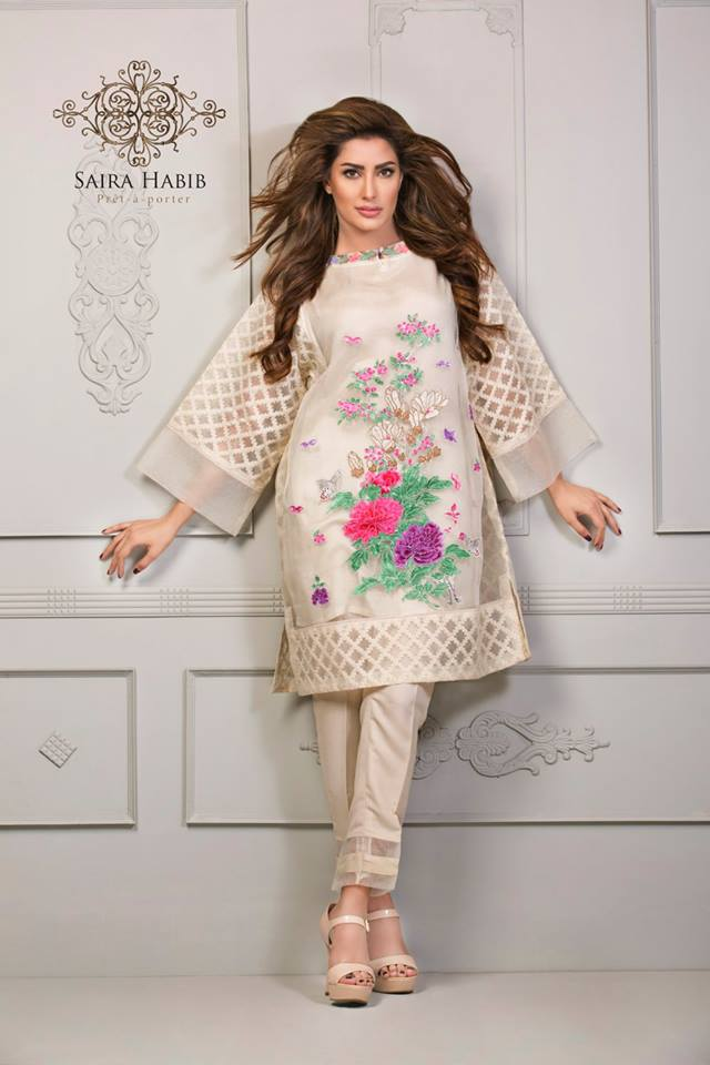 Saira Habib Eid Lawn Festive Season Dresses 2016