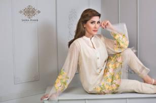 Saira Habib Eid Lawn Festive Season Dresses 2016 4