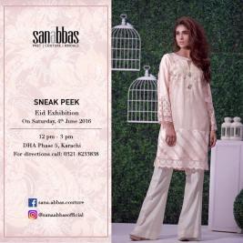 Sana Abbas Eid Festive Dresses