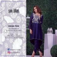 Sana Abbas Eid Festive Dresses Summer 2016 6