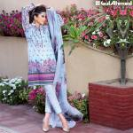 Chantilly De Lace Mid Summer Gul Ahmed Dresses 2016 6