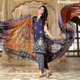 Chantilly De Lace Mid Summer Gul Ahmed Dresses 2016 9
