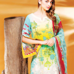 Charizma Combination Lawn Vol-8 Summer Autumn 2016 5