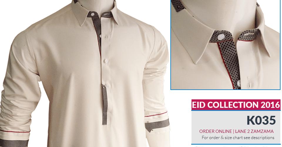 Chevin Shirely Eid Men Kurta Shalwar