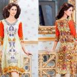 Digital Printed Kurtis Monsoon Collection By Moon Textiles 2016