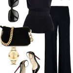 Flared Trousers For Women Polyvore Combos For Autumn
