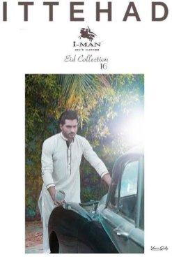 Ittehad Textiles Men Kurta Shalwar Summer 2016
