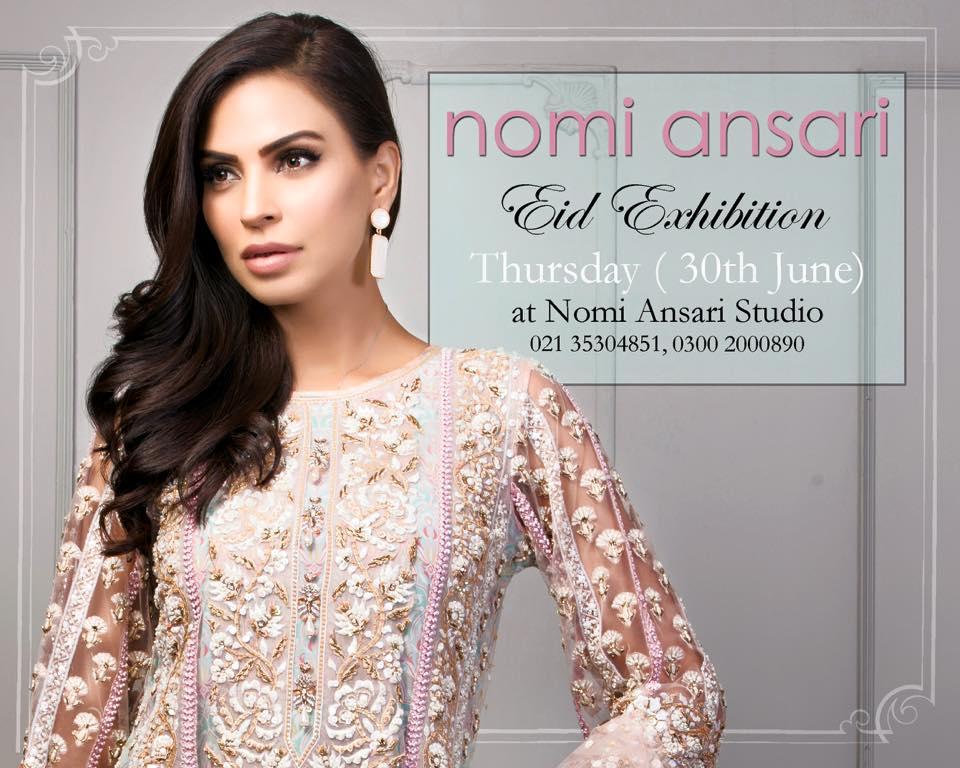 Nomi Ansari Eid Formal Wear