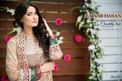 Zainab Hassan Formal Wear Summer End Dresses 2016