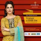 Asim Jofa Luxury Embroidered Chiffon Dresses 2016-17 3
