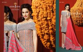 Asim Jofa Luxury Embroidered Chiffon Dresses 2016-17 5