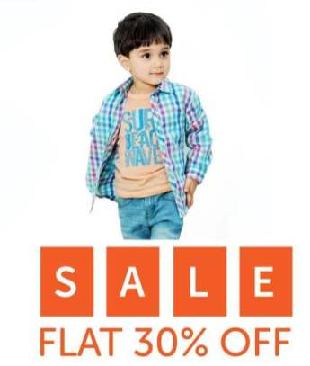 Hopscotch Kids Summer End 30 % Sale 2016-17 2