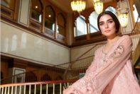 Noor Premium Embroidered Chiffon Dresses 2016-17 6