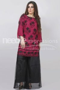 Premium Embroidered Chiffon Collection Needle Impressions 2016 2
