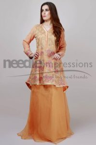 Premium Embroidered Chiffon Collection Needle Impressions 2016 4