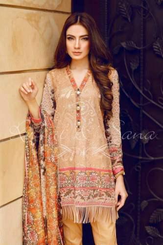 Sana Salman Semi Formal Eid Collection 2016-17 5