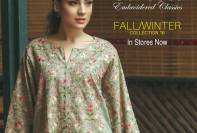 Bareeze Embroidered Classic Winter Collection 2016-17