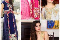 Embroidered Crinkle Chiffon Eid Ul Azha Collection Motifz 2016-17 6
