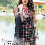Embroidered Festive Eid Lawn Origins Collection 2016-17