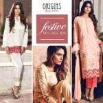 Embroidered Festive Eid Lawn Origins Collection 2016-17 3