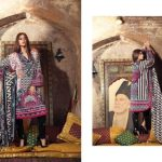 Subhata Winter Cambric Dresses Shariq Textiles Collection 2016-17