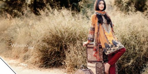 Edenrobe Winter Shalwar Kameez Collection 2016-17