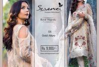 Royal Majestic Shalwar Kameez Collection By Serene 2017 8